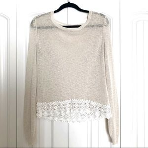 Twik Boho Long-Sleeve Knit Top